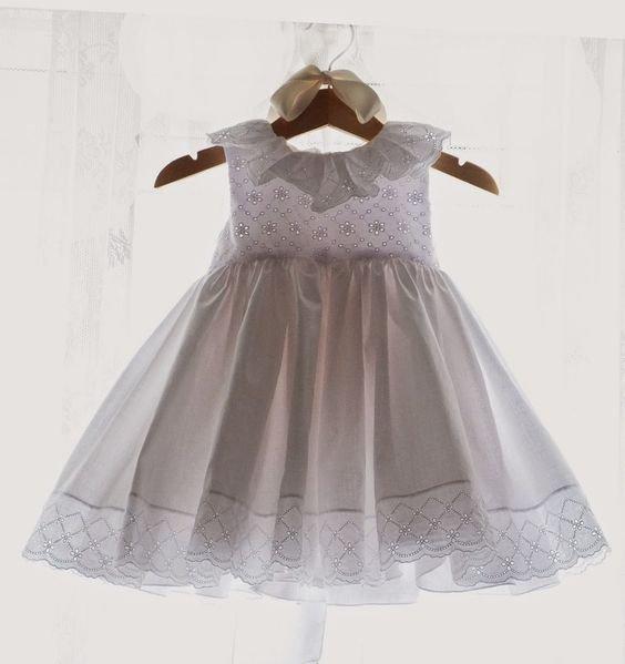 vestido batizado branco 1