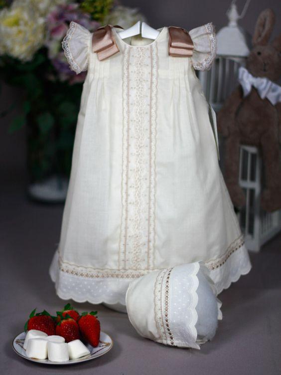 vestido batizado renda 1