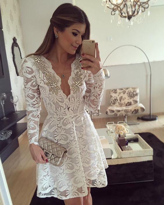 vestido branco festa 9