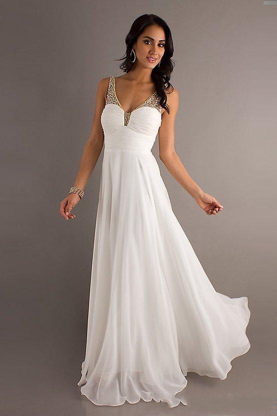 vestido branco para festa
