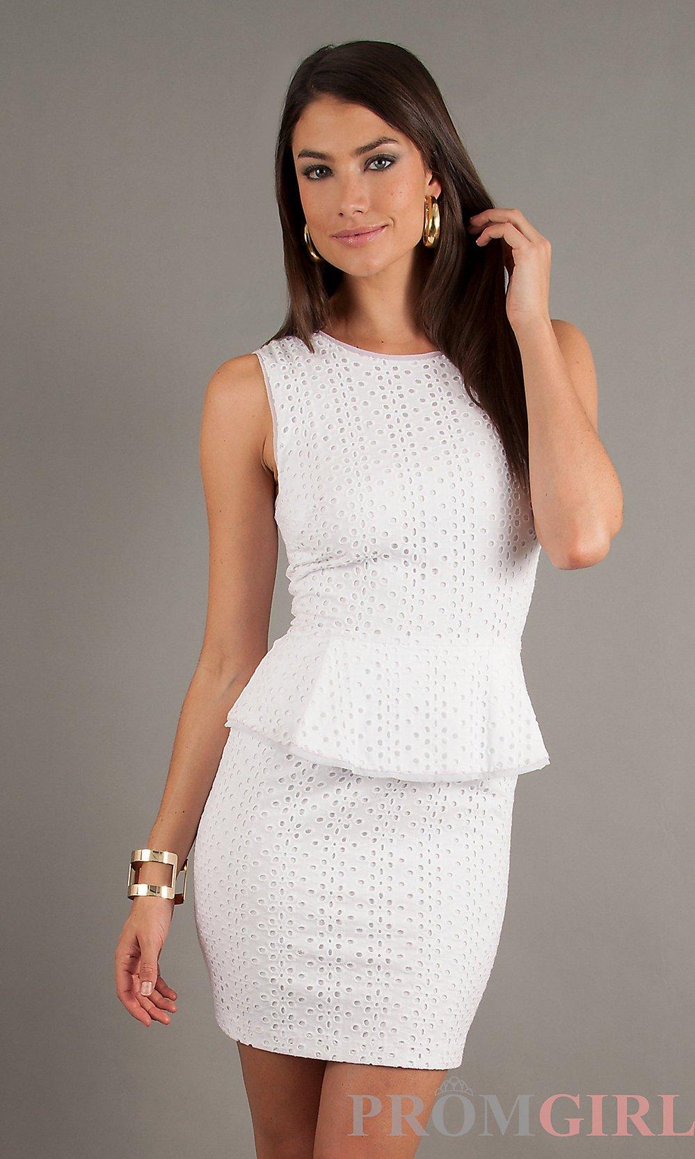vestido branco para o dia