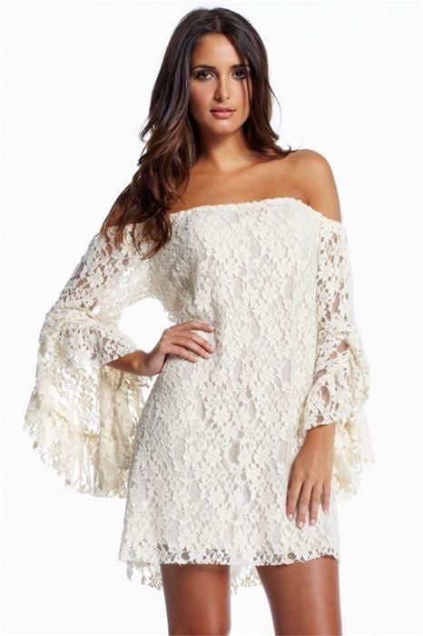 vestido camisa branco