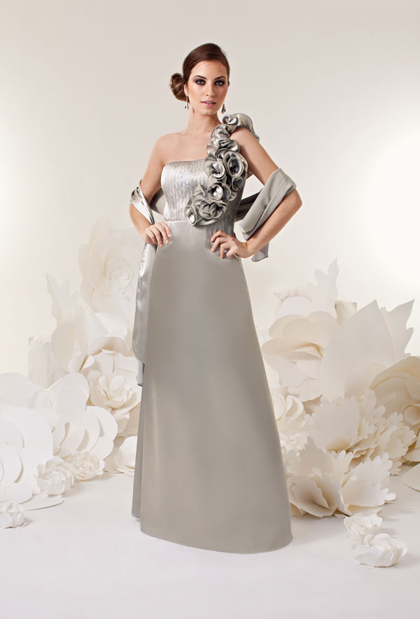 vestido de casamento cor cinza