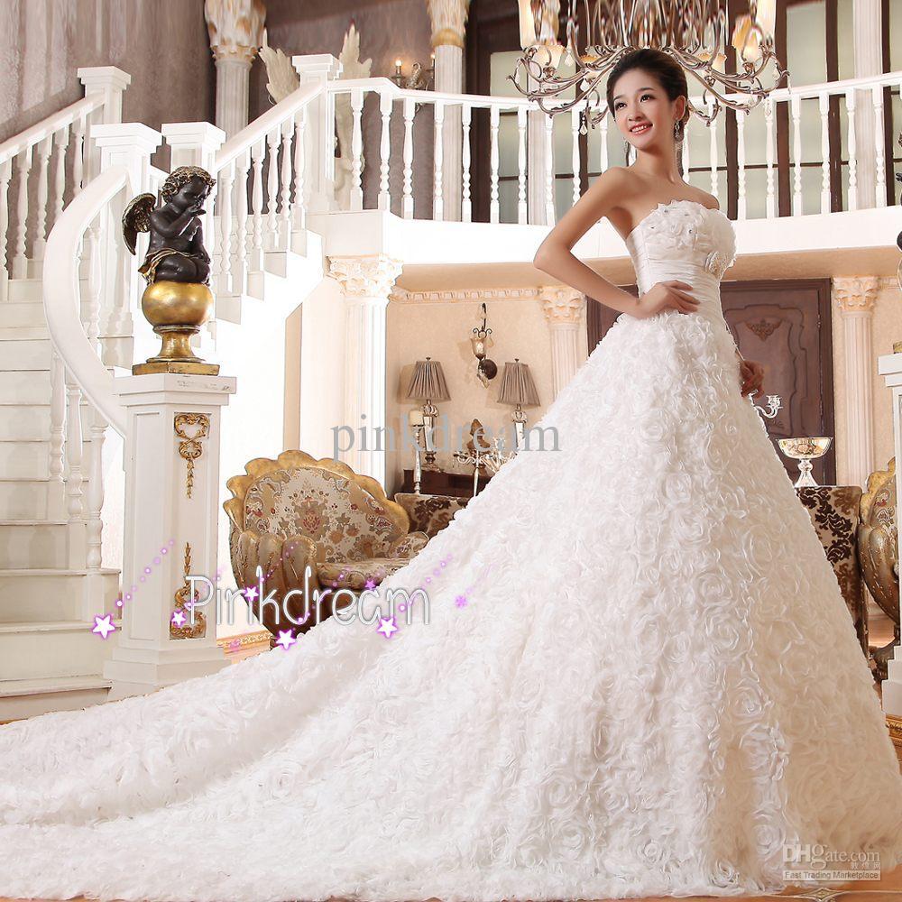 vestido de casamento longo