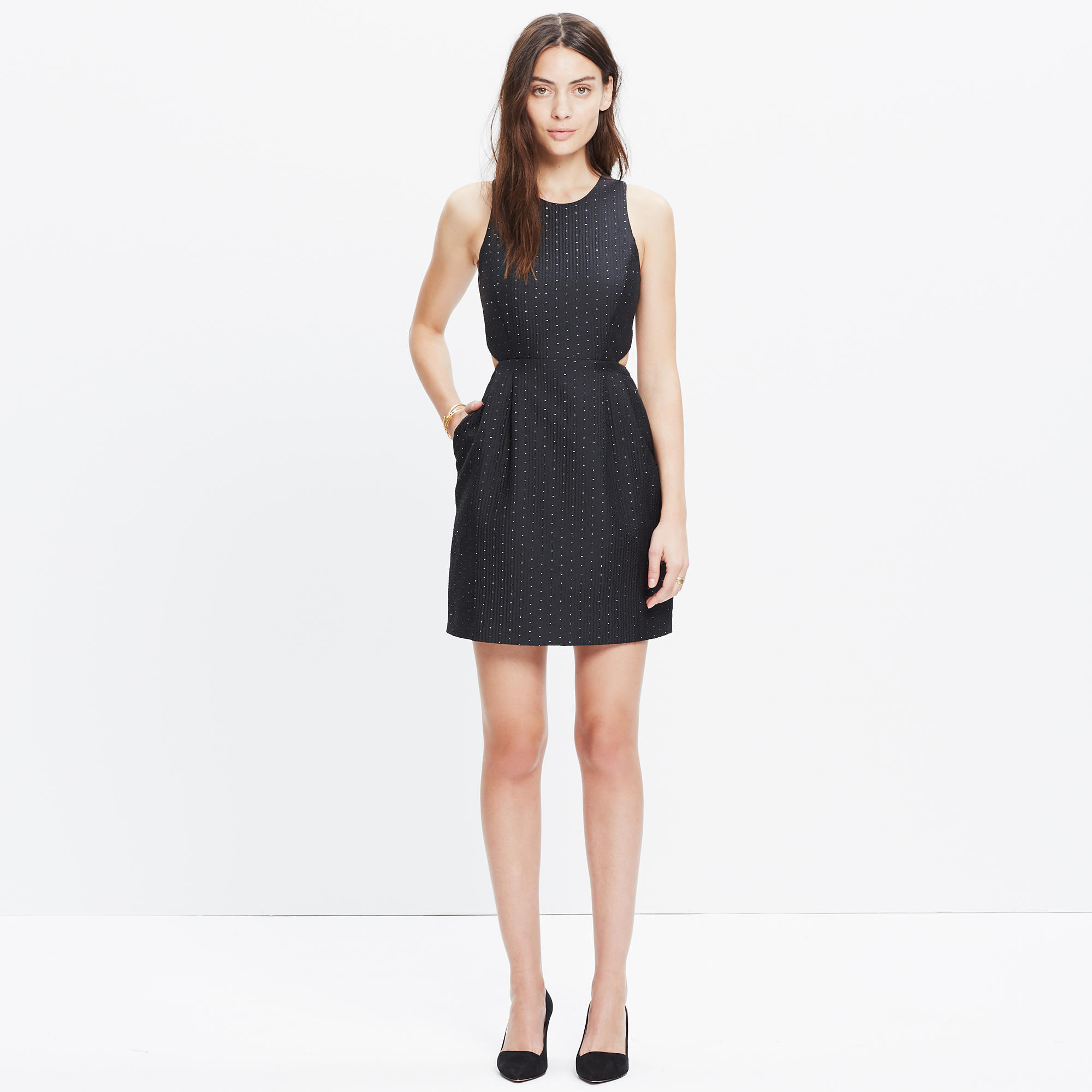 vestido de festa preto simples