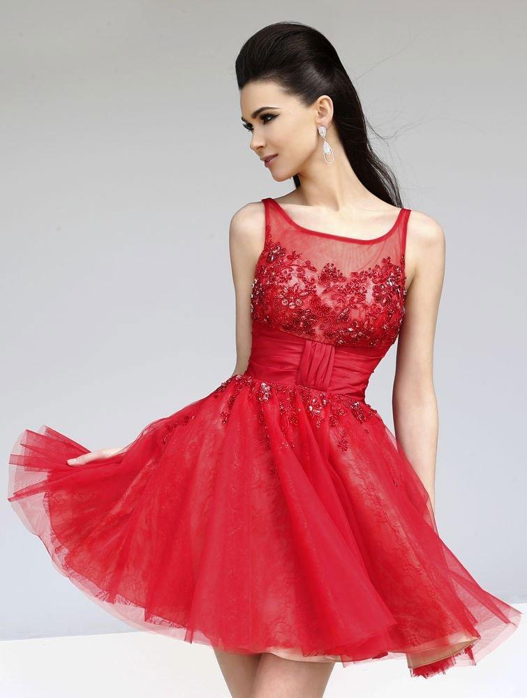 vestido-de-festa-vermelho-curto