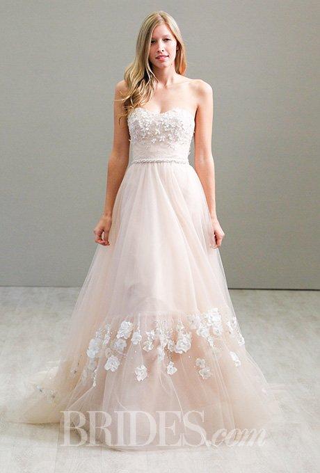 vestido de noiva 2016 em rosa