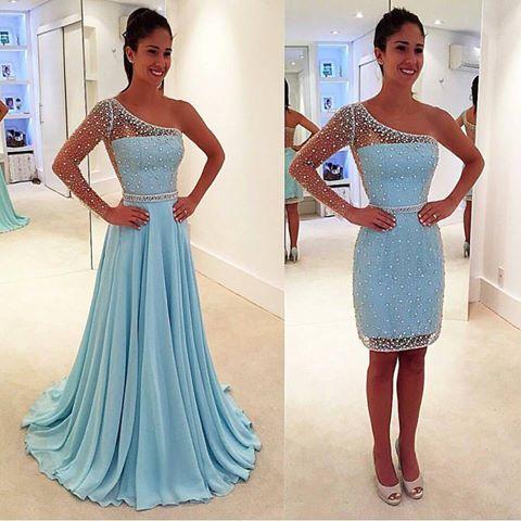 vestido debutante 2 1 azul