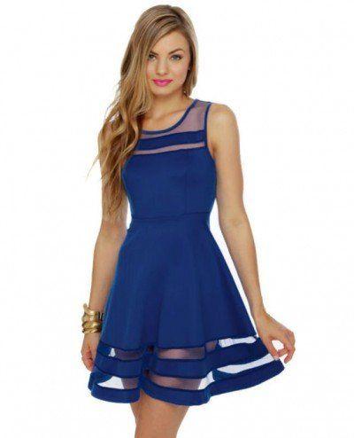 vestido decote tule 4