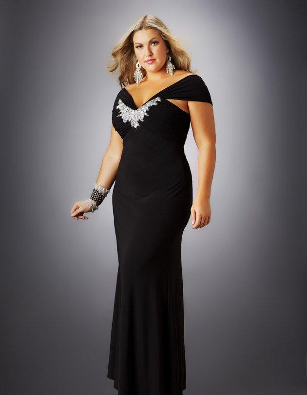 vestido elegante para gordinhas para festa
