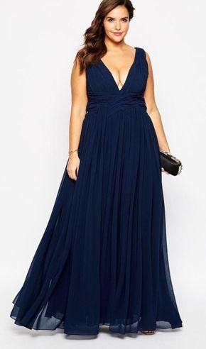 vestido gala dicas modelo plus size 1