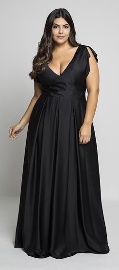 vestido gala dicas modelo plus size