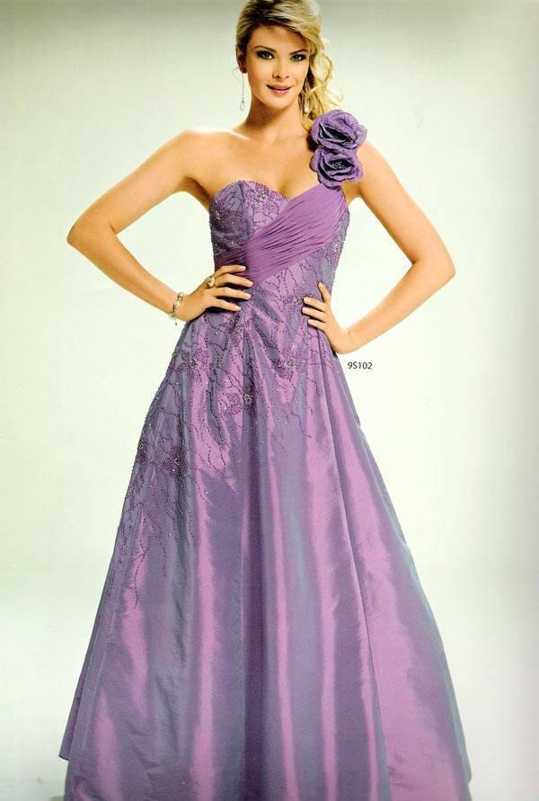 vestido lilas para casamento