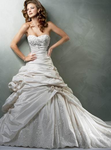 vestido longo casamento romantico