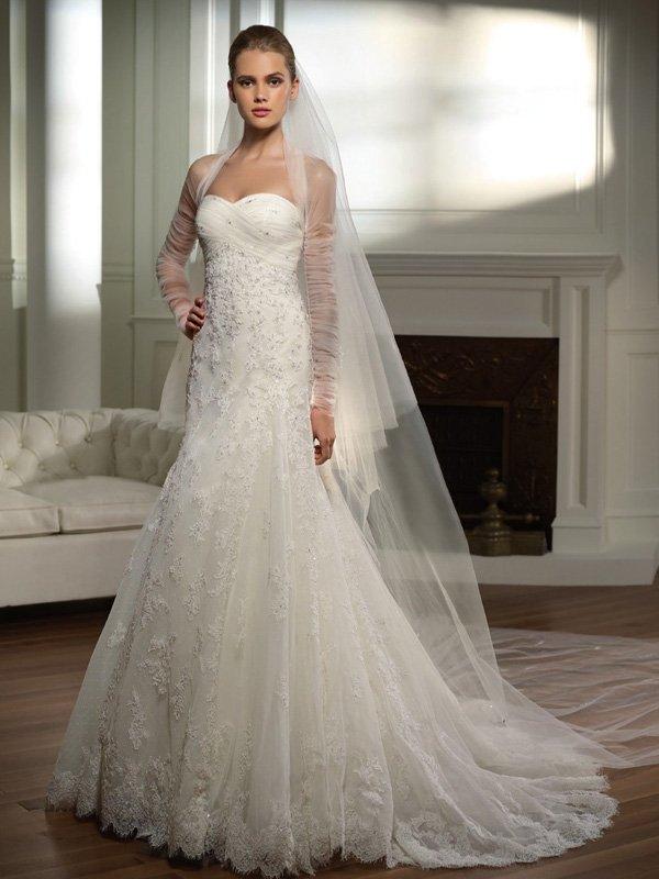 vestido longo noiva