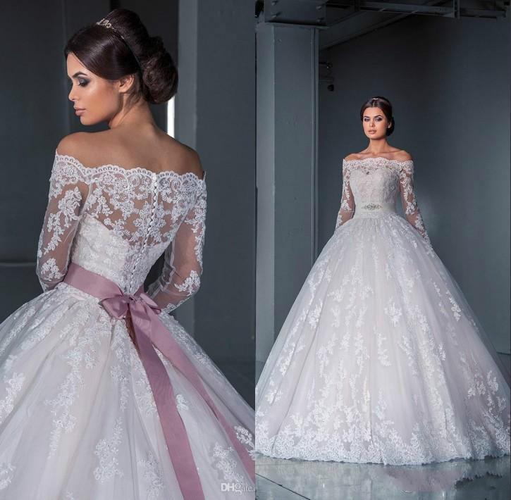 vestido longo para noiva em 2016