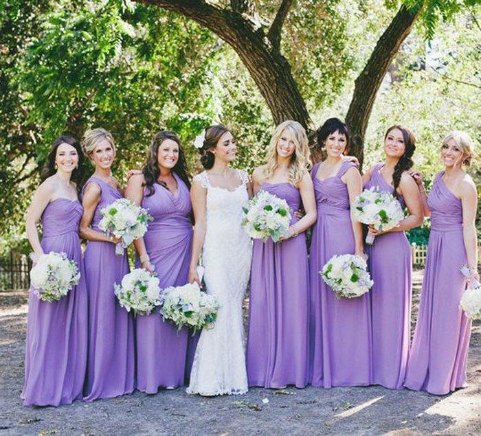 vestido madrinha noiva lilas