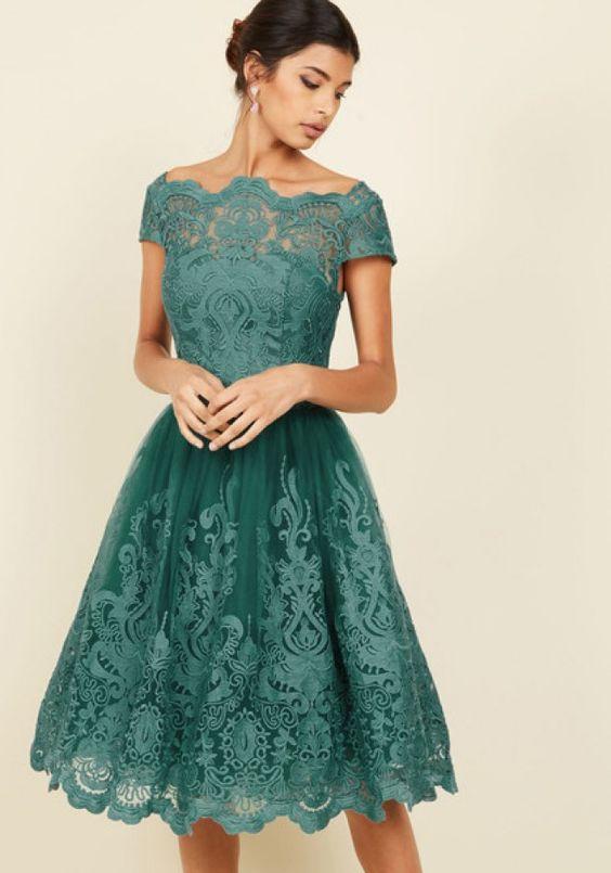 vestido midi casamento