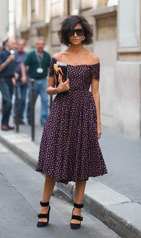 vestido midi ciganita