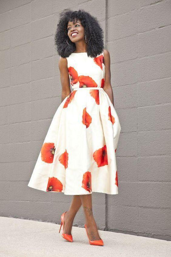 vestido midi rodado 1