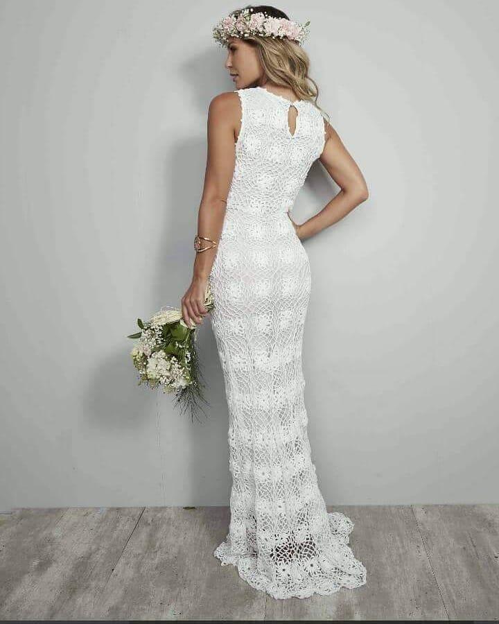 vestido noiva croche 1 1