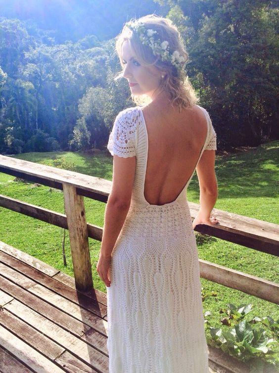 vestido noiva croche 10