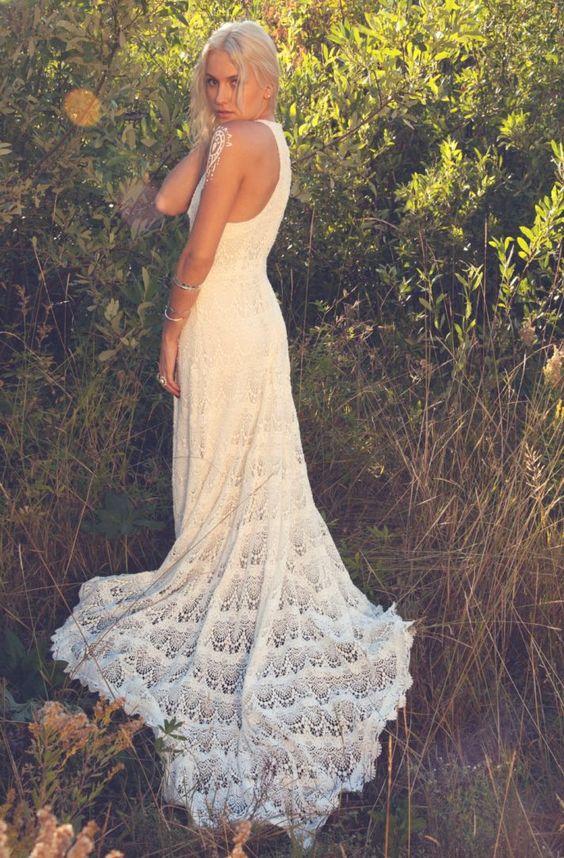vestido noiva croche 4