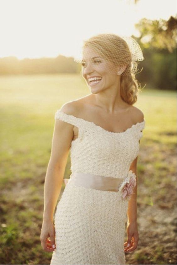 vestido noiva croche 7