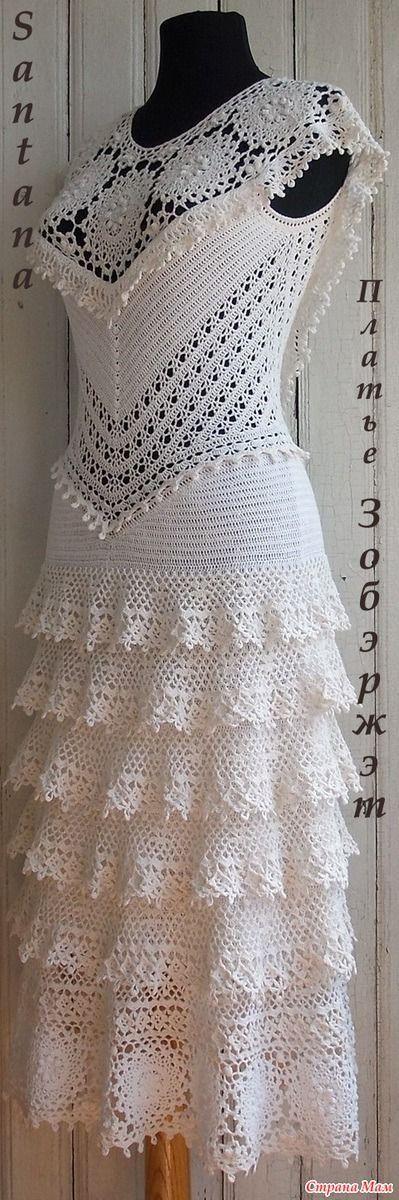 vestido noiva croche 8