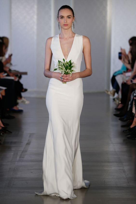 vestido noiva oscar de la renta 3