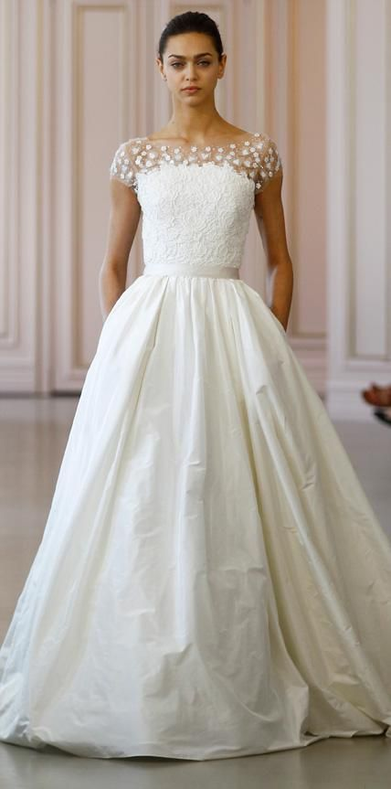 vestido noiva oscar de la renta