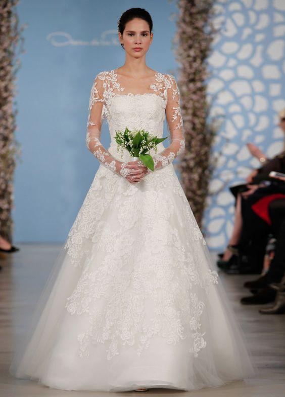 vestido noiva oscar renta 1