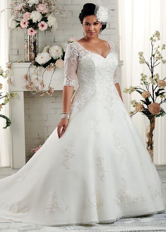 vestido noiva plus size 1
