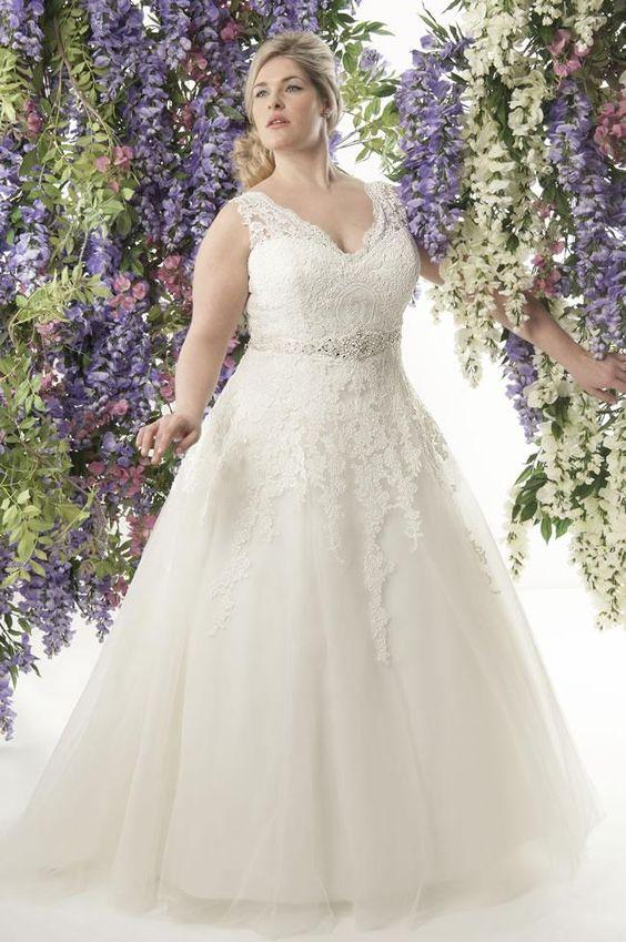 vestido noiva plus size 4