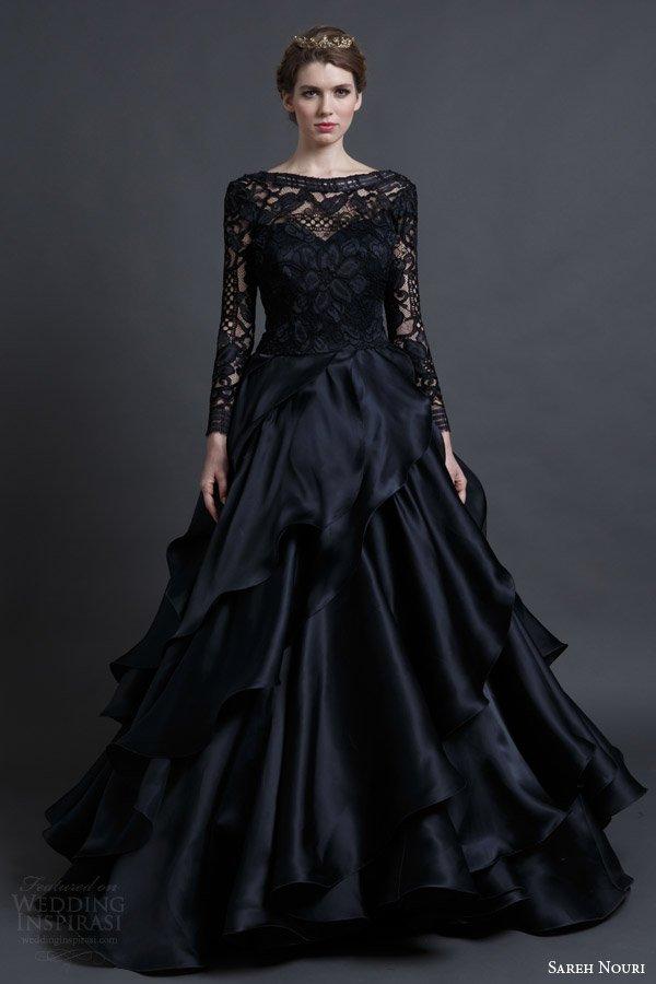 vestido-noiva-preto-com-renda
