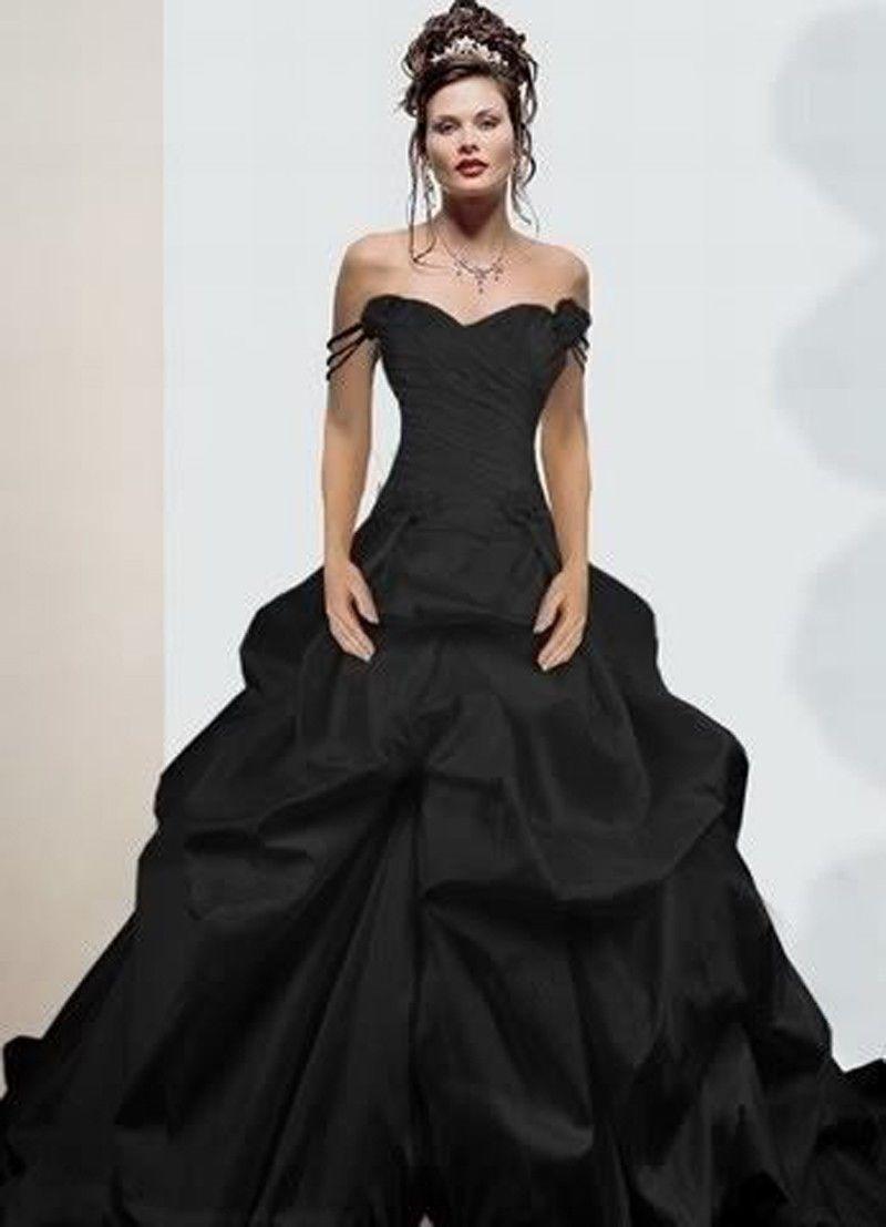 vestido-noiva-preto-elegante