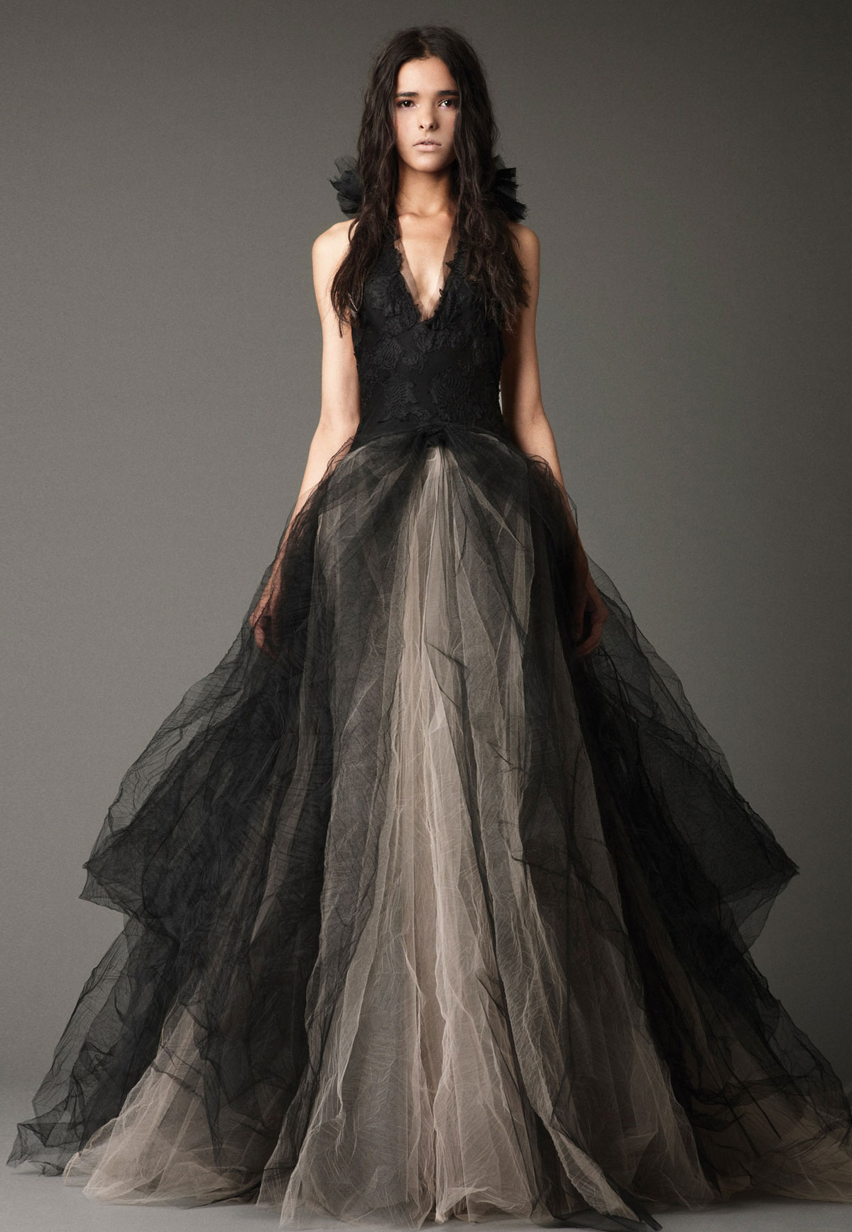 vestido noiva preto vera wang