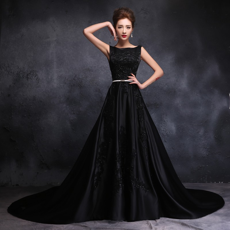 vestido noiva preto vintage