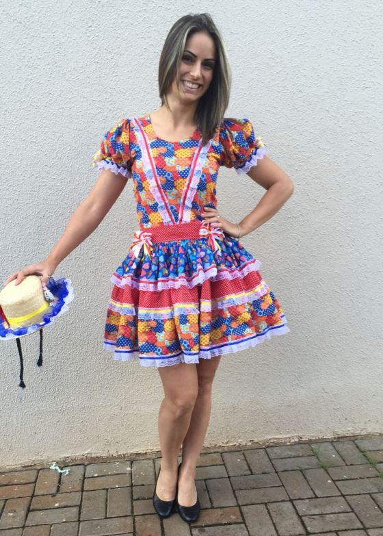 vestido para festa junina 20