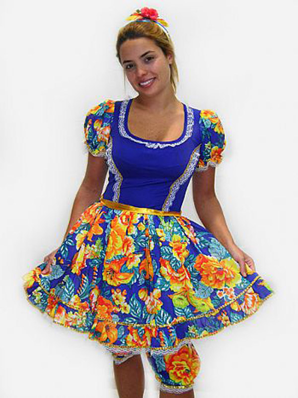vestido para festa junina 21
