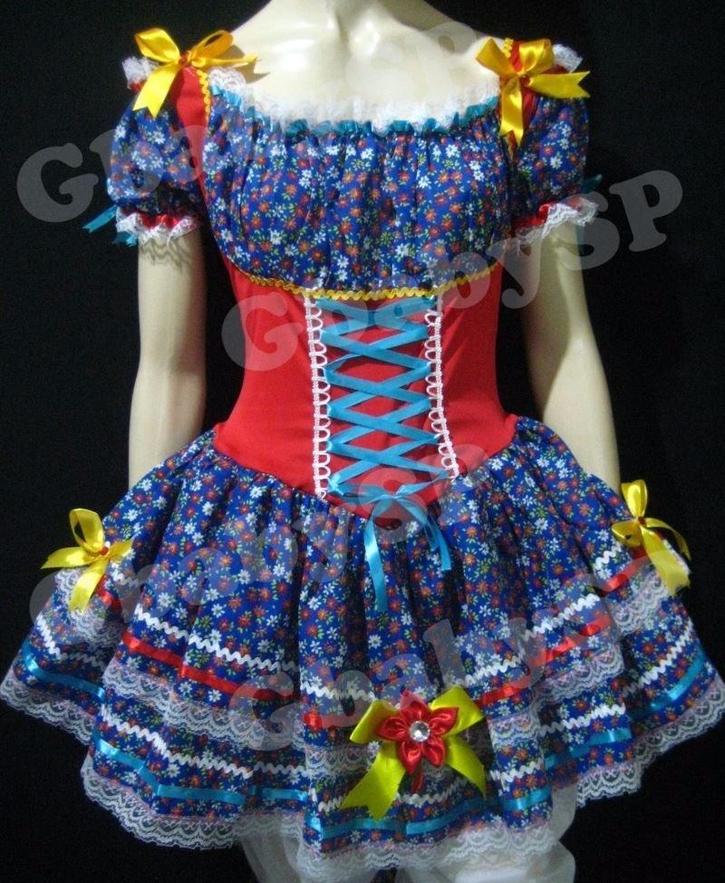 vestido para festa junina 32