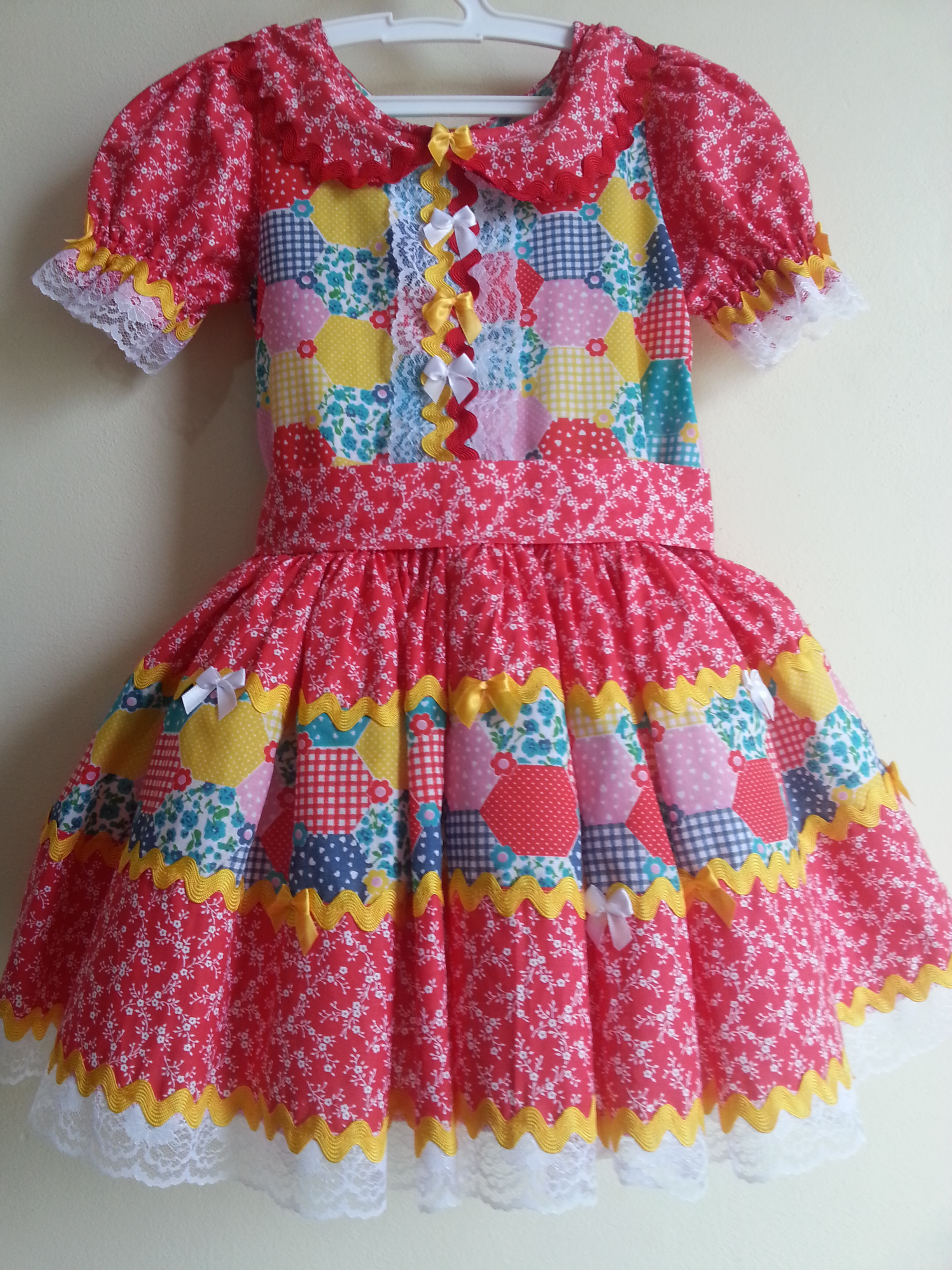 vestido para festa junina 33