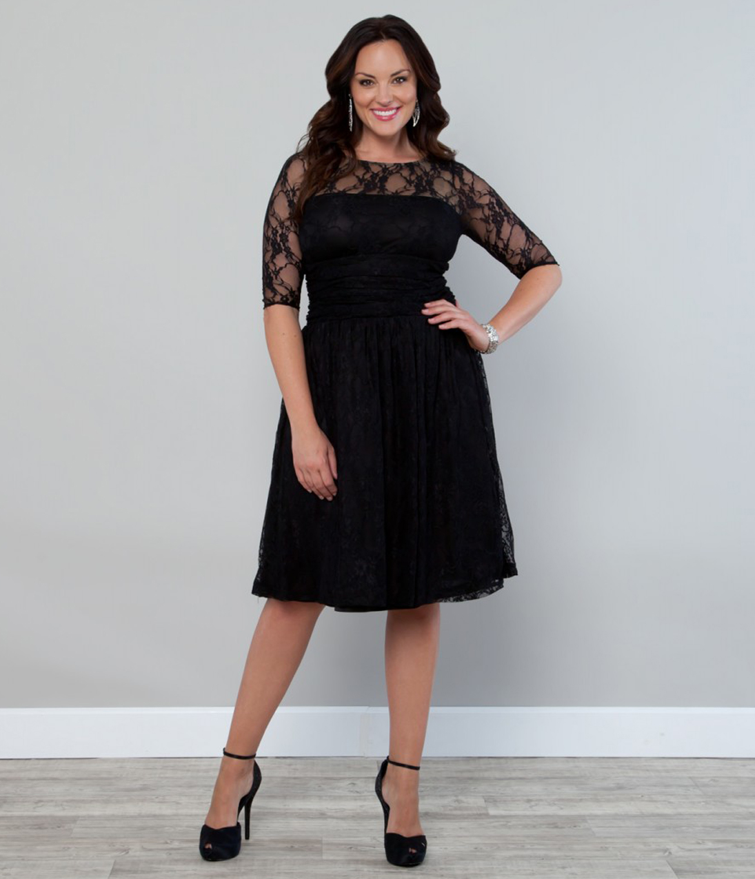 vestido plus size para festa