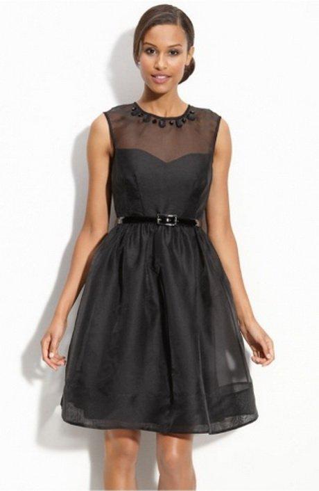 vestido preto curto para formatura