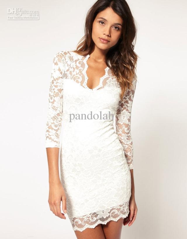 vestido renda modelo