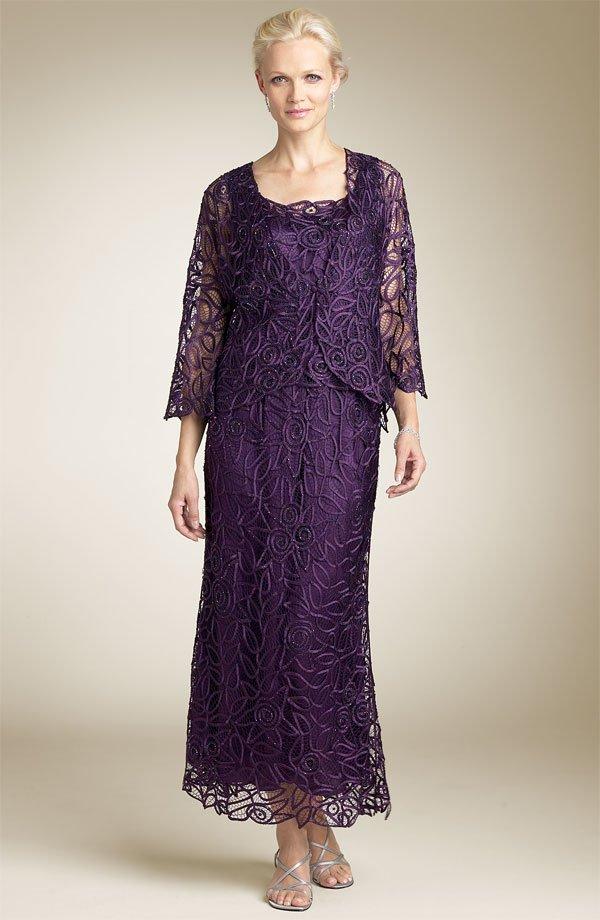 vestido roxo para a mae da noiva