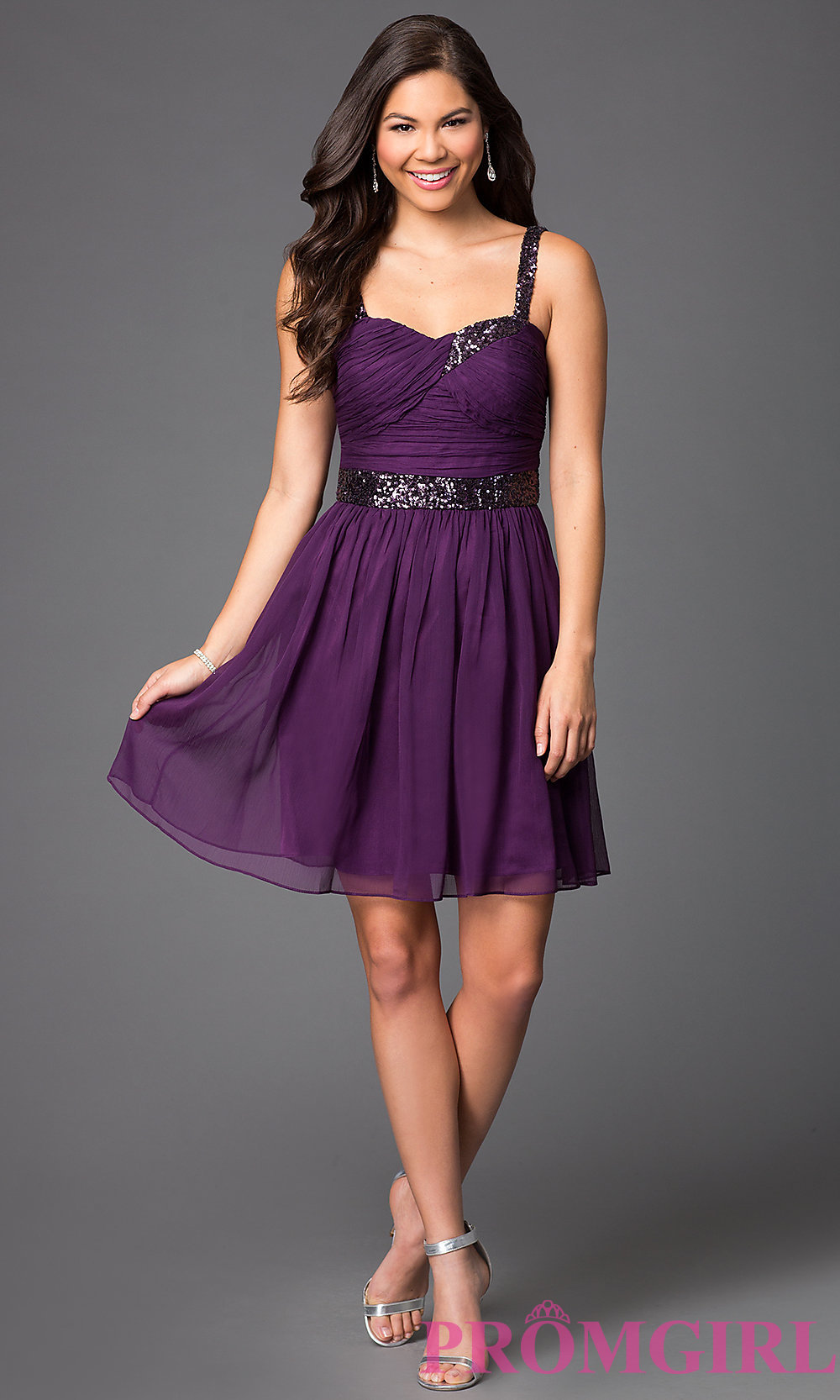 vestido roxo para formatura