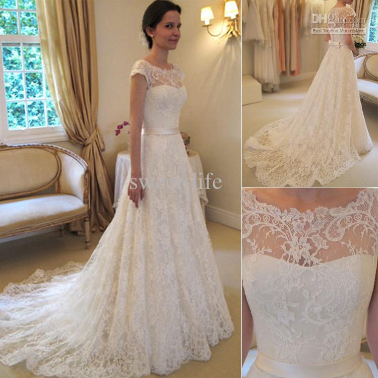 vestido simples noiva vintage