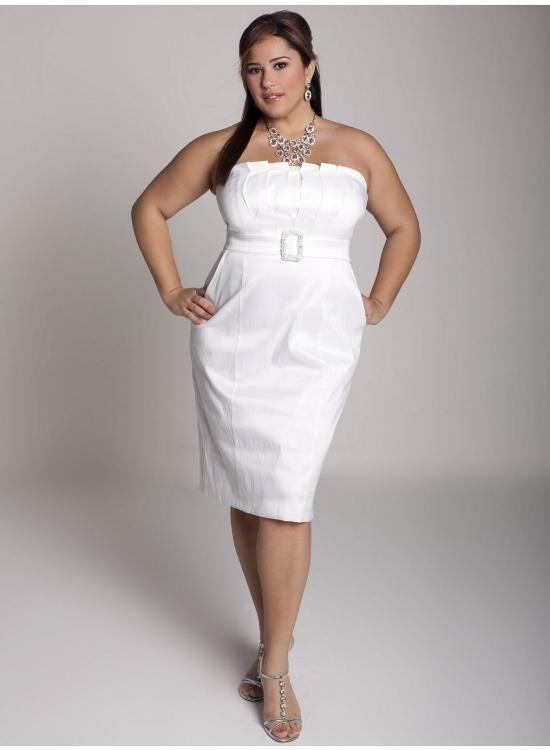 vestido tomara caia plus size branco