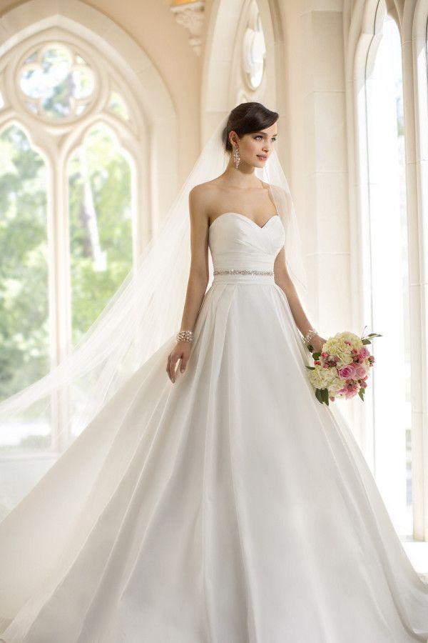 vestido tomara que caia para noivas
